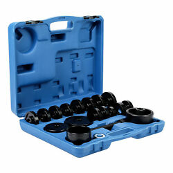 Fwd Front. Wheel Drive Bearing Removal Adapter Tool Puller Pulley Kit 23pcs