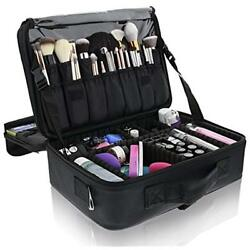 Primalour Travel Cases Large Makeup Train - Professional Bag For Women Cosmetic