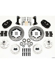 Wilwood Disc Brakes Front Pro Series Drilled/slotted Rotors 4-pisandhellip 140-10996-d
