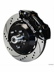 Wilwood Disc Brakes Front Aero6 Drilled/slotted Pads Billet Alumiandhellip 140-10920-d
