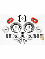 Wilwood Disc Brakes Front Pro Series Cross-drilled Slotted Rotorandhellip 140-11009-dr