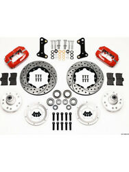 Wilwood Disc Brakes Front Pro Series Cross-drilled/slotted Rotorandhellip 140-10996-dr