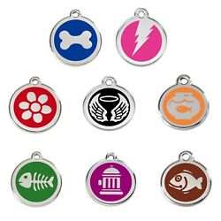 Dog / Cat Tags - Engraved To Your Wording And Guaranteed For Life