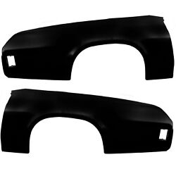 19731977 Chevelle Quarter Panel Skin Pair Right And Left Coupe Edp Steel Dynacorn