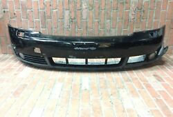 2001-2005 AUDI A4 FRONT BUMPER COVER ASSEMBLY BLACK OEM