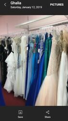 Lot of 150  Designer prom gowns for $15000.00