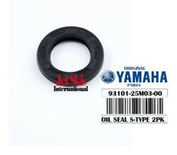 2x Yamaha Oem Lower Unit Oil Seal S-type Outboard 93101-25m03-00 Fast Ship