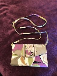 vera bradley all in one crossbody wallet portabello road $35.00