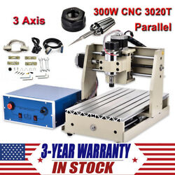 3 Axis CNC 3020 Router Engraver Wood Working Carving Engraving Milling Machine