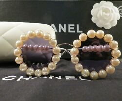 VERY RARE AUTH CHANEL VINTAGE PEARL SUNGLASSES 03526-Z0020 COLLECTORS MINT COND!