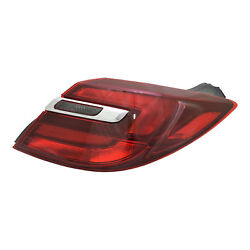 Aftermarket Replacement Passenger Side Outer Tail Light Assembly NSF 166-2643