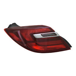 Aftermarket Replacement Driver Side Outer Tail Light Assembly NSF 166-2644