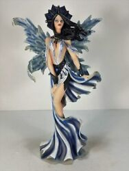 91198 Blue Pixie Wind Fairy Figurine Collectible By Backwoods Lighting Llc