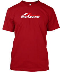 Mercruiser Boating Boat Outboard New W - Mercruises Hanes Tagless Tee T-Shirt