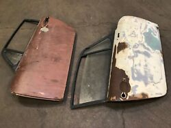 Pair Of Front Doors For Porsche 911 Coupe
