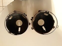 Vintage Ford 600 70s Head Light Buckets And Bezel