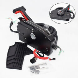 Right Side Mercury Boat Motor Outboard 8 Pin 15ft Cable Remote Control Box brand