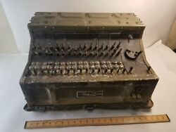 VINTAGE US MILITARY TELEPHONE SWITCHBOARD  SB-248 - TOBYHANNA ARMY DEPOT