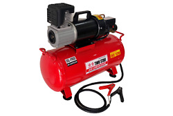 Two Star 12vdc Professional Portable Oil Free Air Compressor With 25 Liters Tank