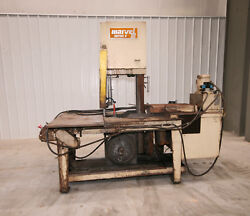 12199 Marvel Series 8 Mark I Vertical Tilt Frame Band Saw, 18