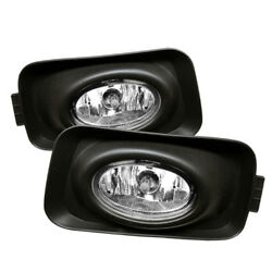 Fog Light For 04 05 Acura Tsx Clear Fog Lamp Kit Oem Foglights With Harness
