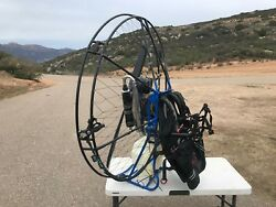 Powered Paraglider Paramotor Back Pack fan for personal flight