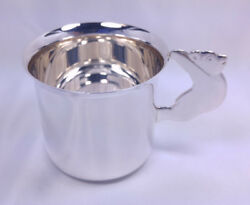 And Co Baby Cup Bear Handle Child Kid Mug Sterling Silver 925 Makers