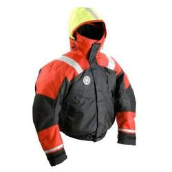 First Watch Ab-1100 Float Bomber Jacket S Red/black Ab-1100-rb-s
