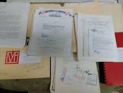 Exploratory Purchase Of The Boston Red Sox Baseball Vintage Correspondence 1977
