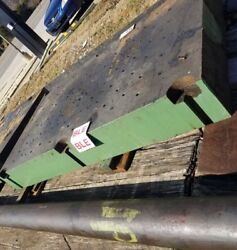 7-3/4 Thick Steel Plate 60 Long X 36.75 Wide Drilled And Tapped Welding Table