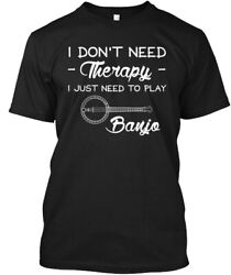 Off-the-rack Just Need To Play Banjo Hanes Tagless Tee Hanes Tagless Tee T-Shirt $18.99