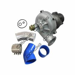 Gtp38 Turbo Charger + O-rings 4 Air Intake Pipe For 99-03 Ford Super Duty 7....