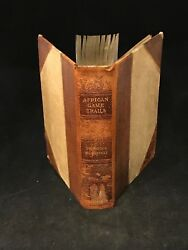 Theodore Roosevelt 1910 African Game Trails Hunting Smithsonian Specimens