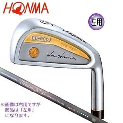 HONMA JAPAN LB606 NEW H&F IRON #3-11 SW Flex R 10Set Shaft 4S FS Left hand