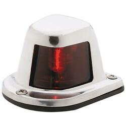 Attwood Stainless 1nm Sidelight Red Light Horz Deck Mt W/wire 66319r7