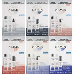 Nioxin System Starter Kit [choose From 1, 2, 3, 4, 5, 6] Brand New And Authentic