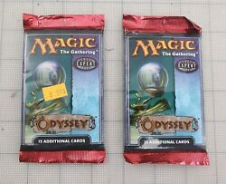 2 MTG: ODYSSEY Sealed Booster Pack from Box - Magic - Odyssey Block - English