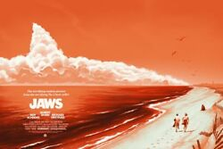 Mondo Jaws Variant Limited Poster By Phanton City Creative 140/150 Sold Out