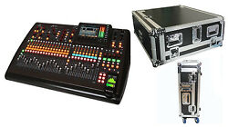 Behringer X32 32-Channel Digital Mixing Board + Road Case w Doghouse Design