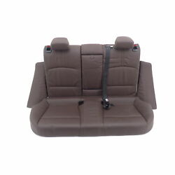 seat bench BMW X4 F26 Nevada mocha rear bench seat