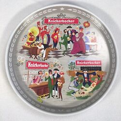 Knickerbocker Beer Tray 12 Metal Round Tray Vintage Have A Knick