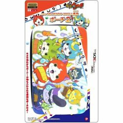 Yokai Watch Colorful Ver. Hard Case Pouch For New Nintendo 3ds Ll Xl