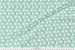 Tooth Teeth Dental Dentist Tooth Fairy Candy Fabric Printed by Spoonflower BTY