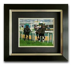 Ap Mccoy Hand Signed Framed Photo Display - Donand039t Push It - Grand National 6.