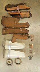 1955 Cadillac Air Conditioning Ducts And Brackets And Cardboard Patterns Fleetwood