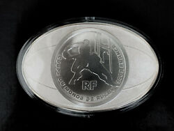 Super Rare France 2007 50 Euro Rugby World Cup 1 Kg Silver Proof Coin 25 Of 299