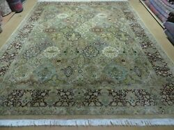 8and039x10and039 Safavieh Hand Made Pakistan Oriental Floral Wool Rug Hand Knotted Organic