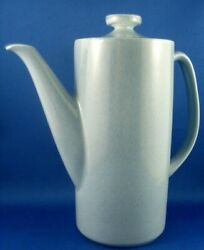 Rare Vintage 1940's Arklow Ireland Blue Pottery Coffee Pot W/lid Collectable -