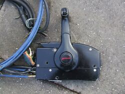 Mercury Outboard  Remote Control with Cables  loom  fitting kit and key