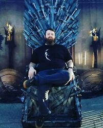 Game of Thrones chair Iron Throne lifesize Replica collectible GOT hand crafted